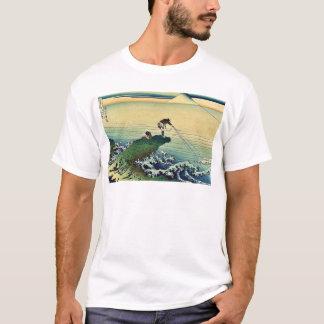 Koshu Kajikazawa durch Katsushika, Hokusai Ukiyoe T-Shirt
