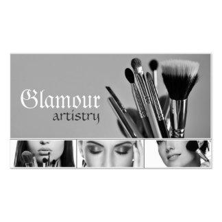 Kosmetik Maskenbildner-Visitenkarte