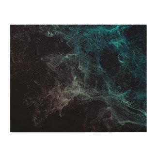Kosmisch Holzdruck