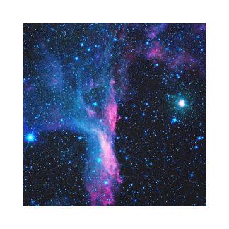 Kosmische Ballerina in der Raum NASA Leinwanddruck