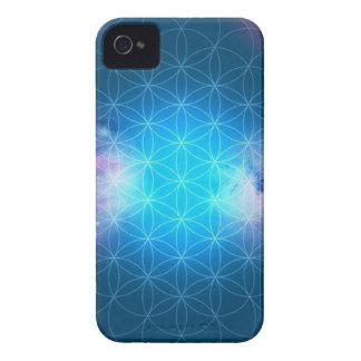 Kosmische Blume des Lebens iPhone 4 Hülle