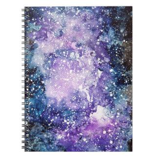 Kosmische Galaxie Notizblock