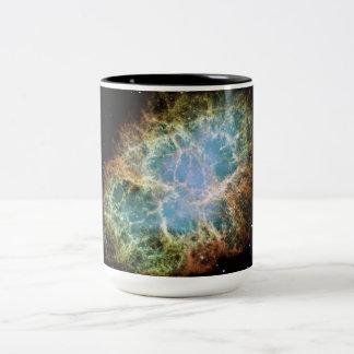 Kosmische Galaxie-Raum-Tasse Zweifarbige Tasse