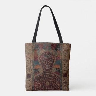 Kosmische Gebets-Wolldecke-Tasche Tasche