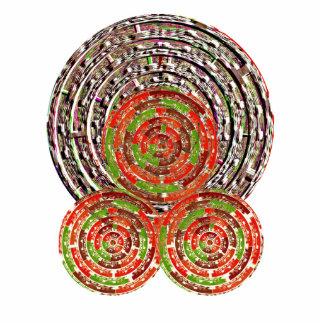 Kosmische heilende Energie Chakras durch Naveen Freistehende Fotoskulptur