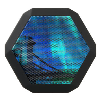 Kosmische Nacht in Budapest Schwarze Bluetooth Lautsprecher