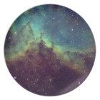 Kosmische Platte Melaminteller