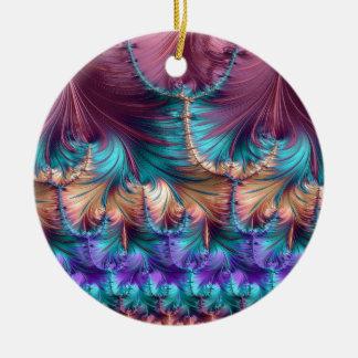 Kosmischer Brunnen des Kindheits-Fraktals abstrakt Keramik Ornament