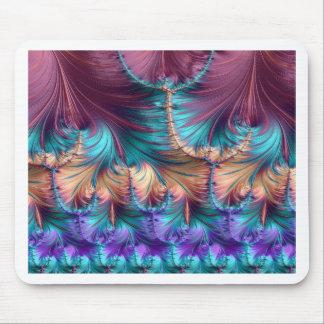 Kosmischer Brunnen des Kindheits-Fraktals abstrakt Mauspad
