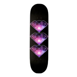 Kosmischer Diamant Individuelle Skateboarddecks