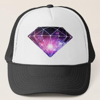 Kosmischer Diamant Truckerkappe
