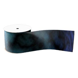 Kosmischer Imitat-Blau-Marmor Ripsband