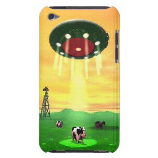 Kosmischer Kuh-Abduktions-Fall iPod Touch Cover