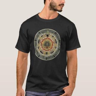 Kosmischer RoseMandala T-Shirt