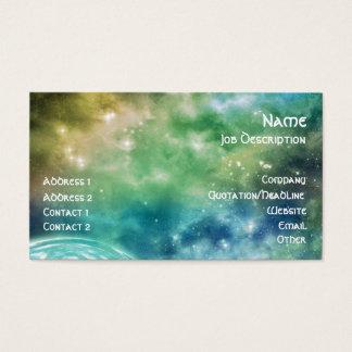 Kosmisches Chaos Visitenkarte