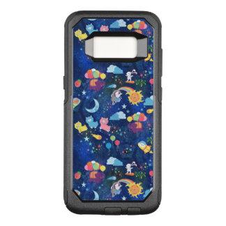 Kosmisches Kawaii OtterBox Commuter Samsung Galaxy S8 Hülle