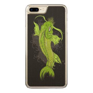 Kosmisches Koi Carved iPhone 8 Plus/7 Plus Hülle