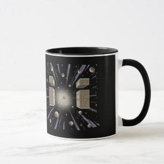 Kosmisches, neues Alter, Angelegenheiten, Kaffee Tasse