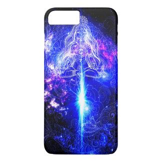 Kosmisches schillerndes Koi iPhone 8 Plus/7 Plus Hülle