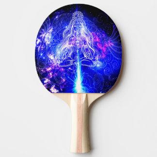 Kosmisches schillerndes Koi Tischtennis Schläger