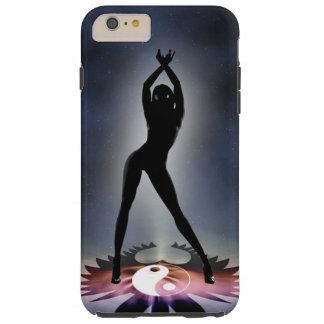 Kosmisches Tänzer iPhone 6/6s plus, starker Tough iPhone 6 Plus Hülle