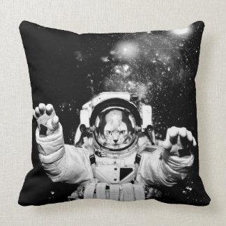 Kosmonaut-Katze Kissen