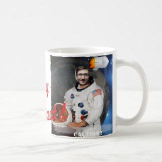 Kosmonaut, Shuttle, Raum - mit IHREM Foto u. Text Kaffeetasse