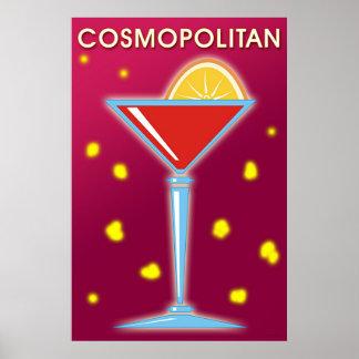 Kosmopolitisch Poster