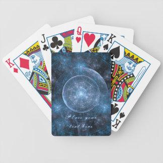 Kosmos-Hintergrund 001 Bicycle Spielkarten