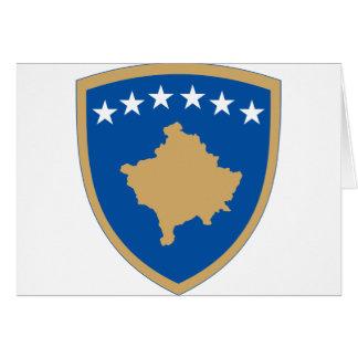 Kosovo-Emblem Karte