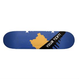 Kosovo-Flagge 20,6 Cm Skateboard Deck