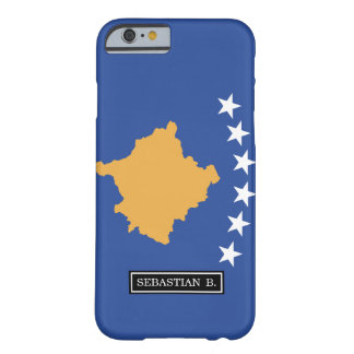 Kosovo-Flagge Barely There iPhone 6 Hülle