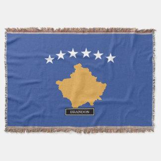 Kosovo-Flagge Decke