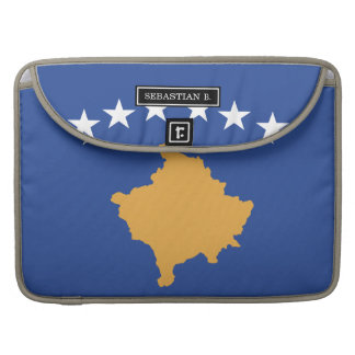 Kosovo-Flagge MacBook Pro Sleeve