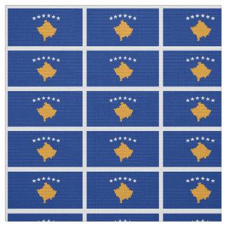 Kosovo-Flagge Stoff