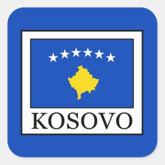 Kosovo Quadratischer Aufkleber