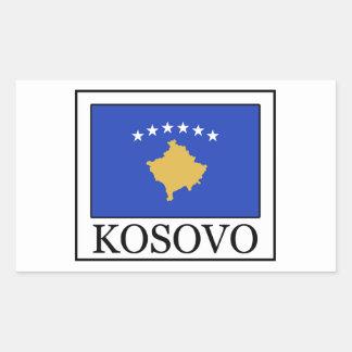 Kosovo Rechteckiger Aufkleber