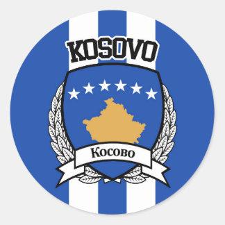 Kosovo Runder Aufkleber