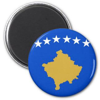 Kosovo Runder Magnet 5,1 Cm