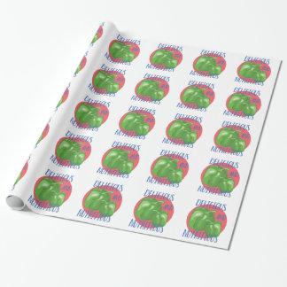 Köstlich und nahrhaft geschenkpapier