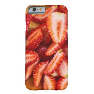 Köstliche Erdbeere Barely There iPhone 6 Hülle