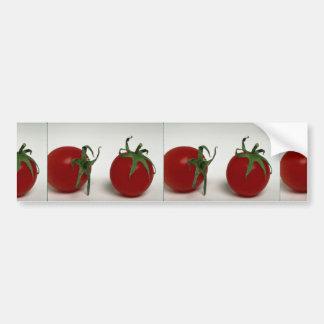 Köstliche Kirschtomaten Autoaufkleber