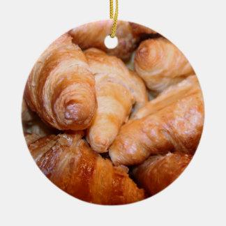 Köstliche klassische französische rundes keramik ornament