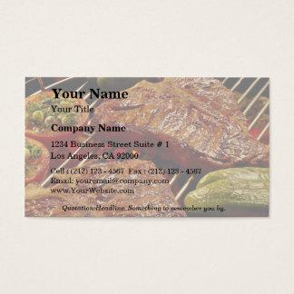 Köstliche Knochensteaks Visitenkarten