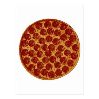 Köstliche Pizza-Torte Postkarte