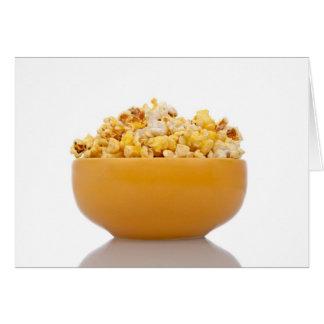 Köstliches Popcorn Karte
