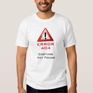 Kostüm 404 nicht gefunden shirt