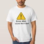Kostüm des Fehler-404 Halloween nicht gefunden Shirt
