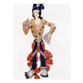 Kostüm für Nijinsky im Ballett Postkarte