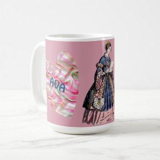 Kostümiert ~ den personalisierten AVA~ Tag Kaffeetasse